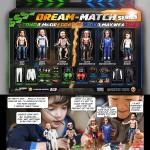 DREAM MATCH figures